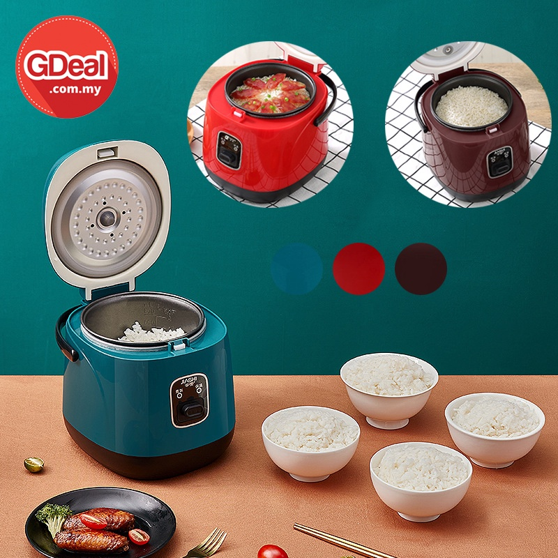 GDeal Kitchen Students Dormitory Classy Electric Mini Rice Cooker Small Periuk Nasi ڤريوق ناسي
