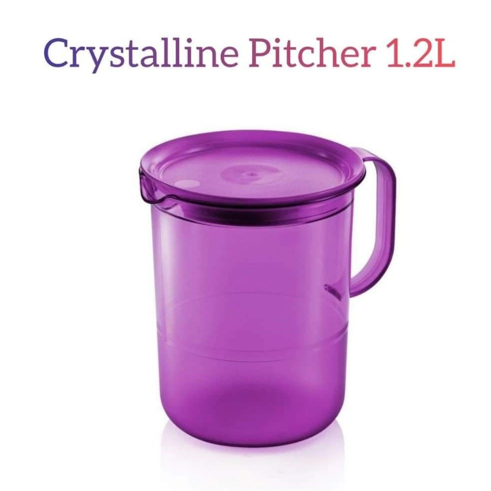 Tupperware Crystalline Pitcher 1.2L (1pc)
