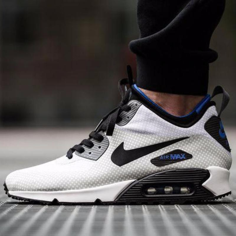 Nike Air Max 90 Mid Winter Print (Night Silver & Black)