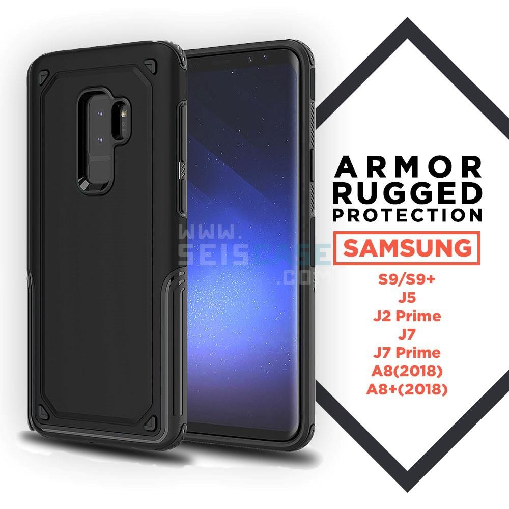 Samsung S9 Plus J7 J5 J2 Prime A8 Armor Case OEM SPG Rugged Neo Hybrid Grip