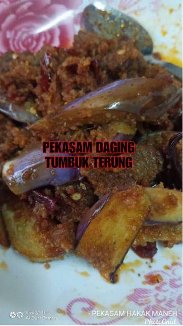 Ready to Eat Pekasam Daging Tumbuk Hakak Maneh | Ready to Eat | Koyak Plastik Terus Makan