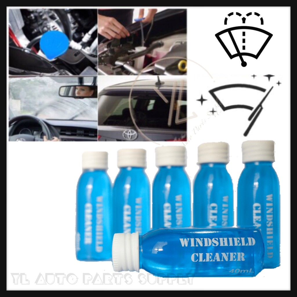 Car Windshield Cleaner Windscreen Cleaner 40ml Shopee Malaysia