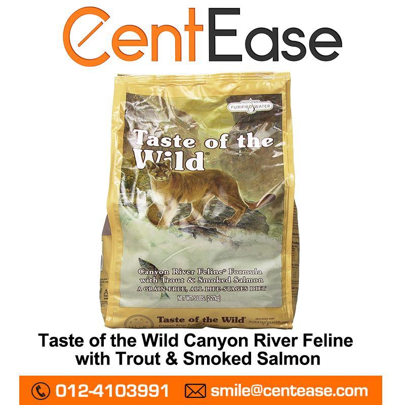 df76bdaa0455 Taste of the Wild - Canyon River - Grain-Free Cat Food (1.5KG ...