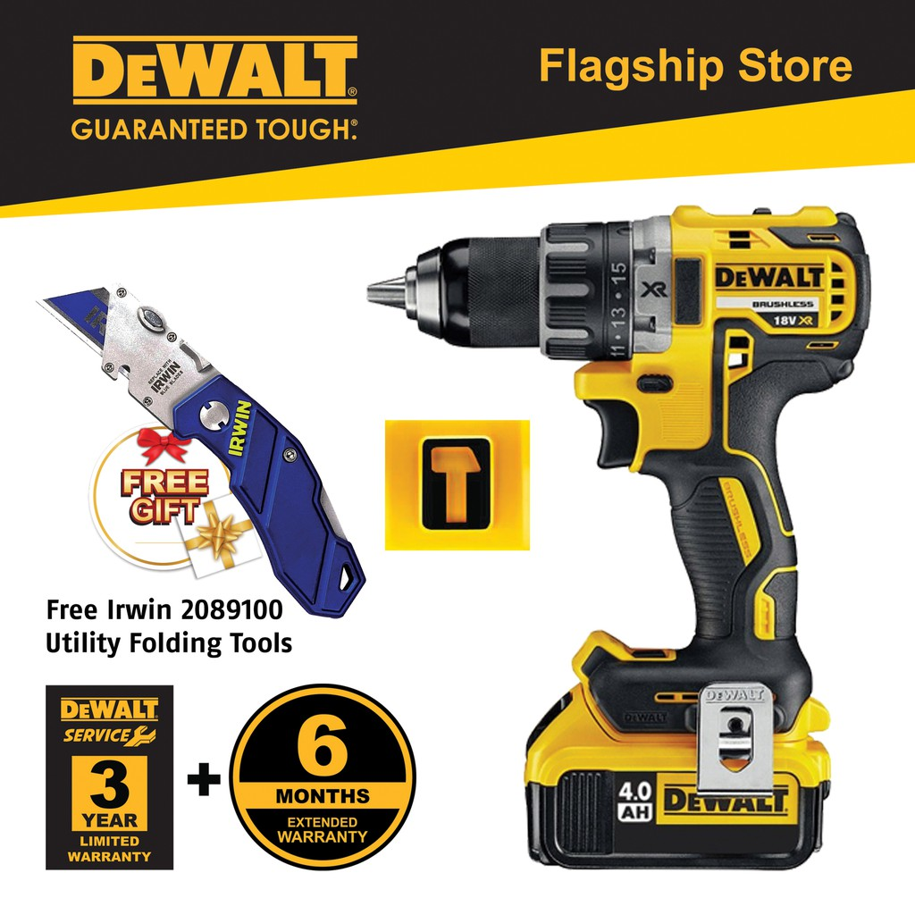 Dewalt DCD796M2-B1 18V XP Cordless Brushless Compact Hammer Drill  Driver(DCD796)
