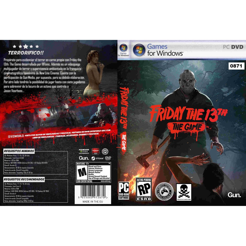 (PC) Friday The 13th - The Game