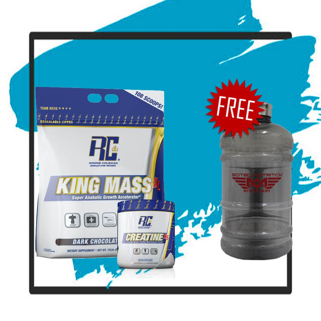 King Mass XL 15lbs | Shopee Malaysia -. Source · Ronnie Coleman Reviews New .