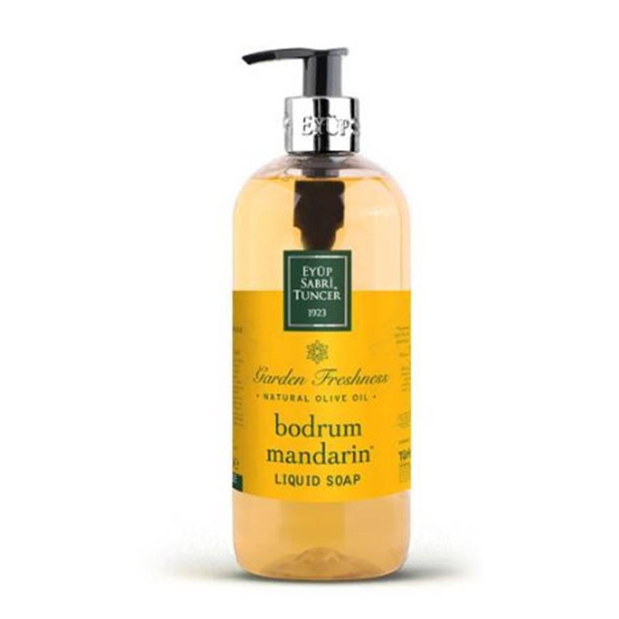 Eyub Sabri Tuncer Liquid Soap With Natural Olive Oil - Bodrfum Mandarin (600ml)