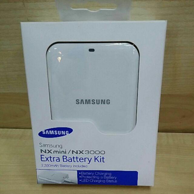 Samsung NX mini / NX 3000 Extra Battery Kit