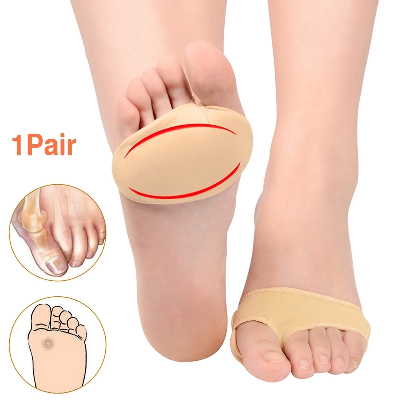 Cool Ring Women Invisible Socks Front Heel Sock High Heel Anti-Slip Silicone Forefoot Insole Pad