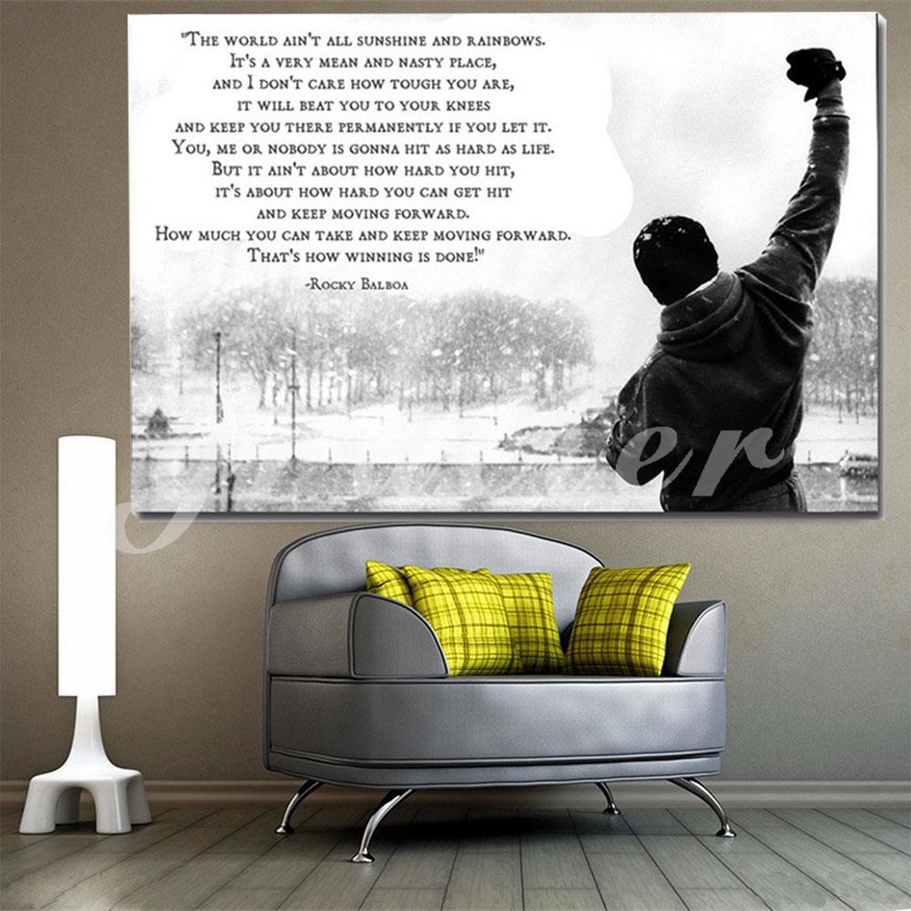 Poster Paintings Office Wall Decor Black White Large Arts Shopee Malaysia