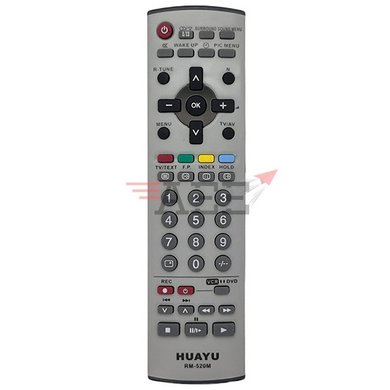 Huayu RM-520 Multi LCD TV Remote Control (Compatible: Panasonic)