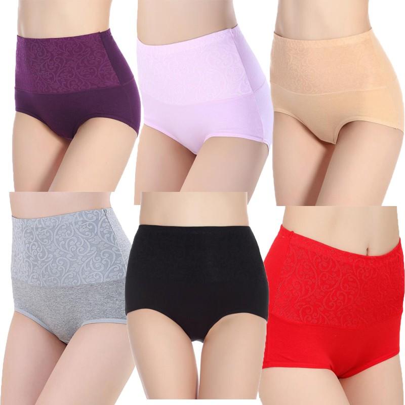 31f93198a4b8b COSWAY Ambrace Maxi High Legs Panties (Pack of 3)