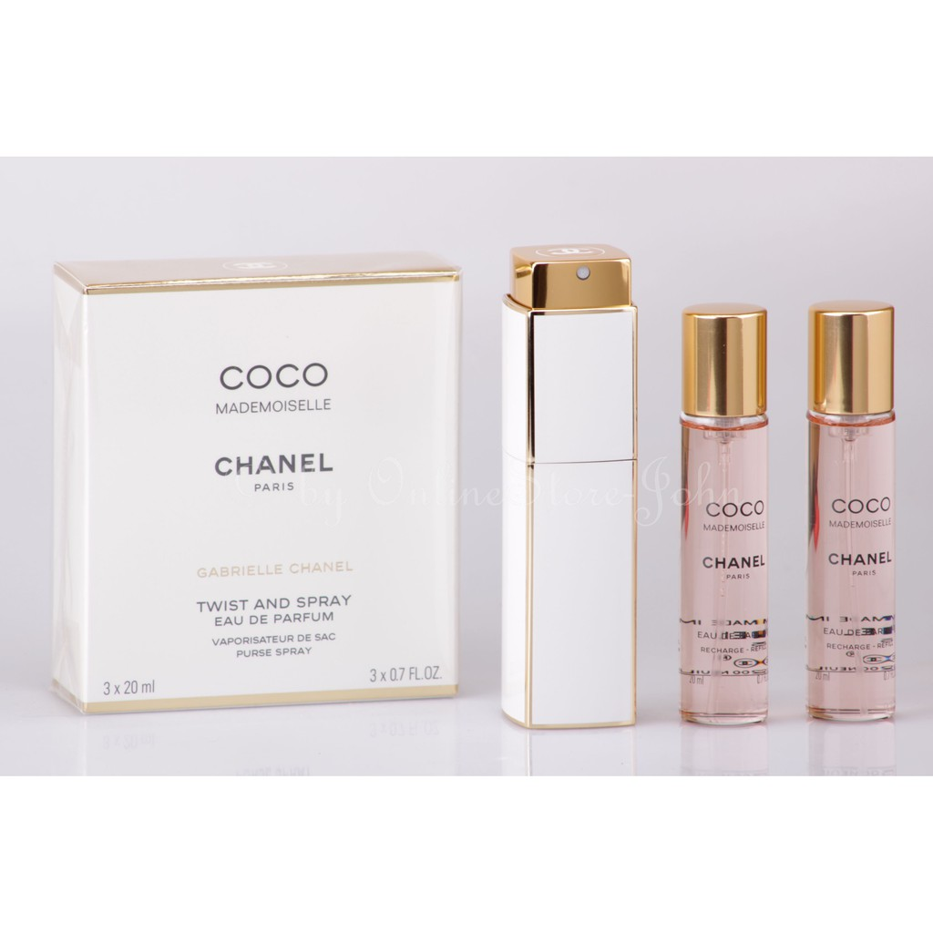 866f499e28809 Chanel Coco Mademoiselle EDP Twist   Spray Purse Spray Set