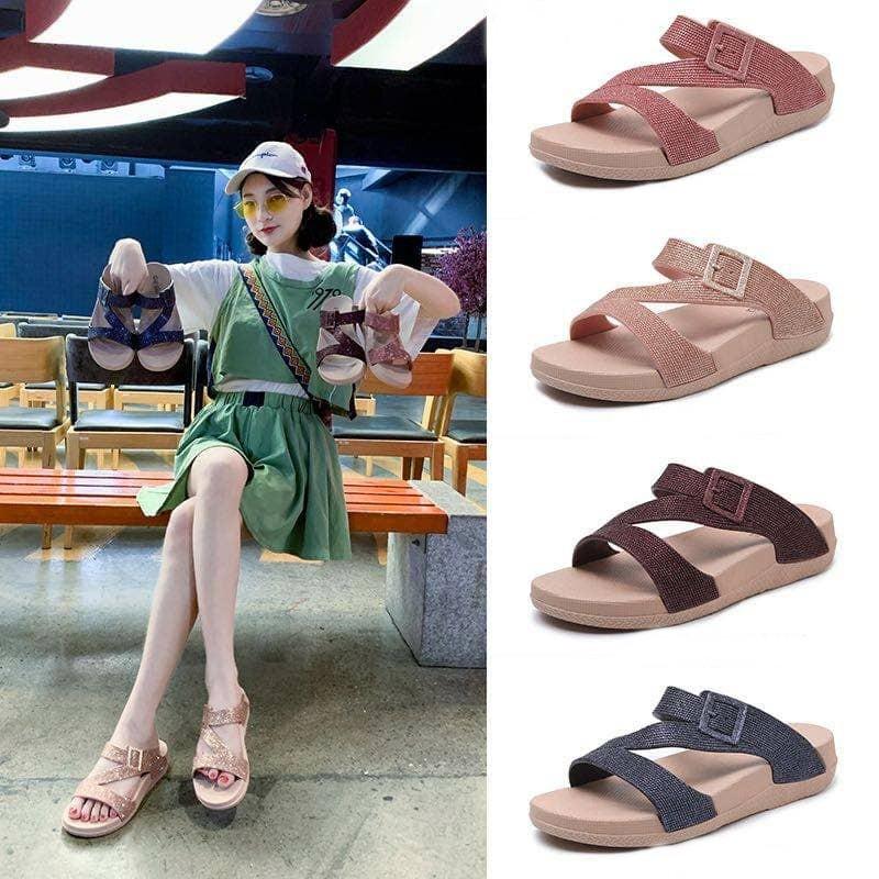 Candia Lady Casual Sandal by BigBiz