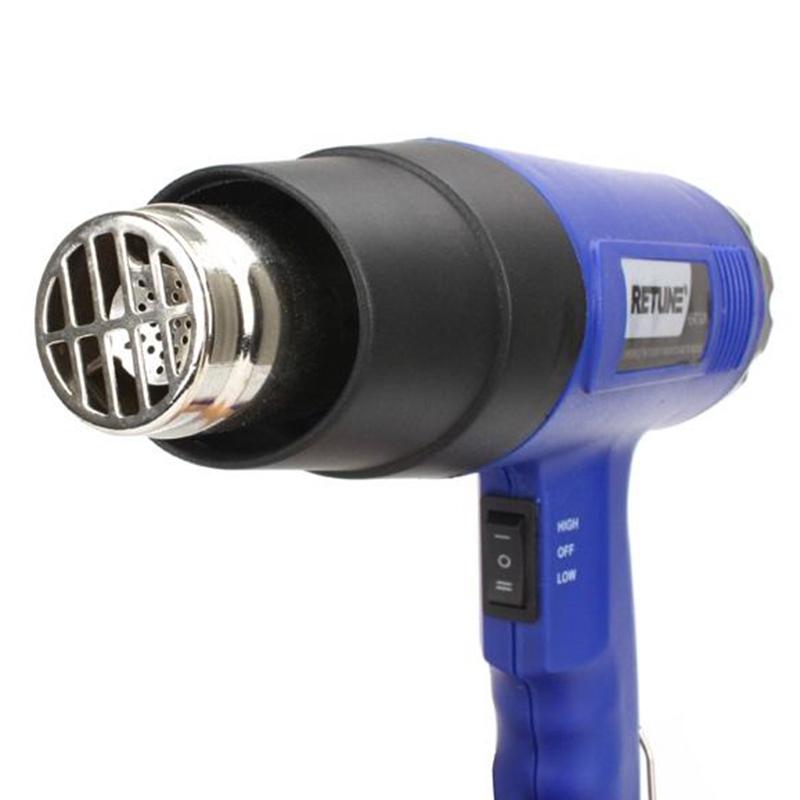 1800W Hot Gun Heat Gun Hot Air Gun Blower Shrink Gun Dual Adjustable Temperature