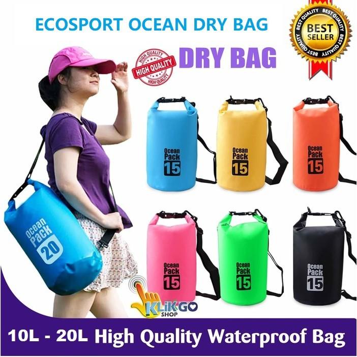 bfd7c11570f EcoSport 10L 15L 20L Ocean Dry Bag Waterproof Diving Bag Travel ...