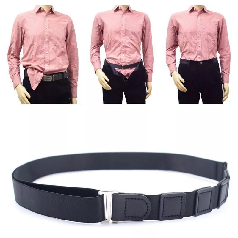 Adjustable Near Shirt-Stay Frog Fun .Best.Sellers Best Shirt Stays Black Tuck It Belt Shirt Tucked Mens Shirt Stays