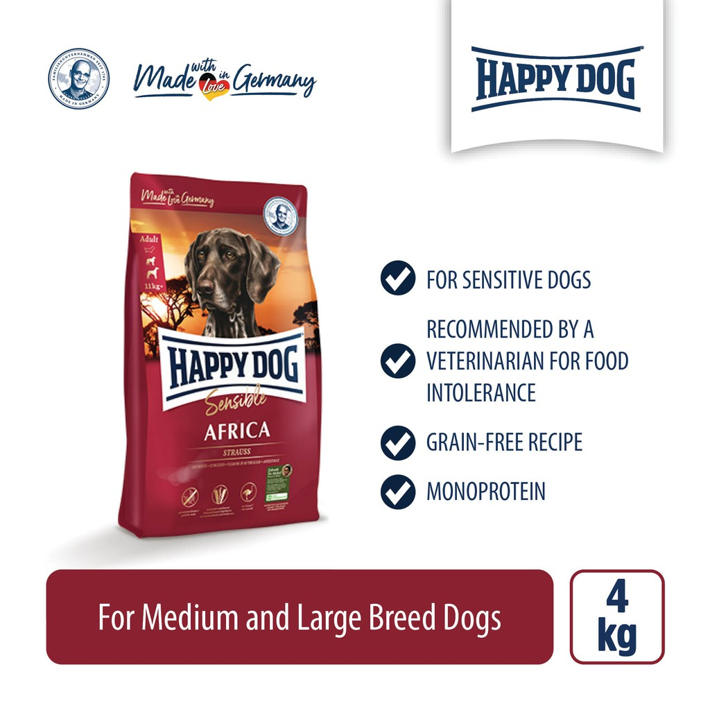 Happy Dog Supreme Sensible Africa (4kg)
