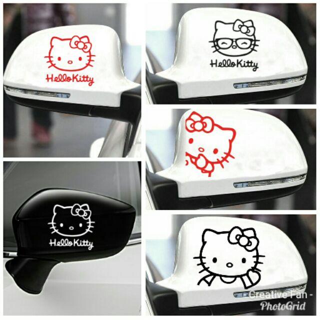 1bcb2db0b Hello Kitty Car Sticker in Full Set | Shopee Malaysia