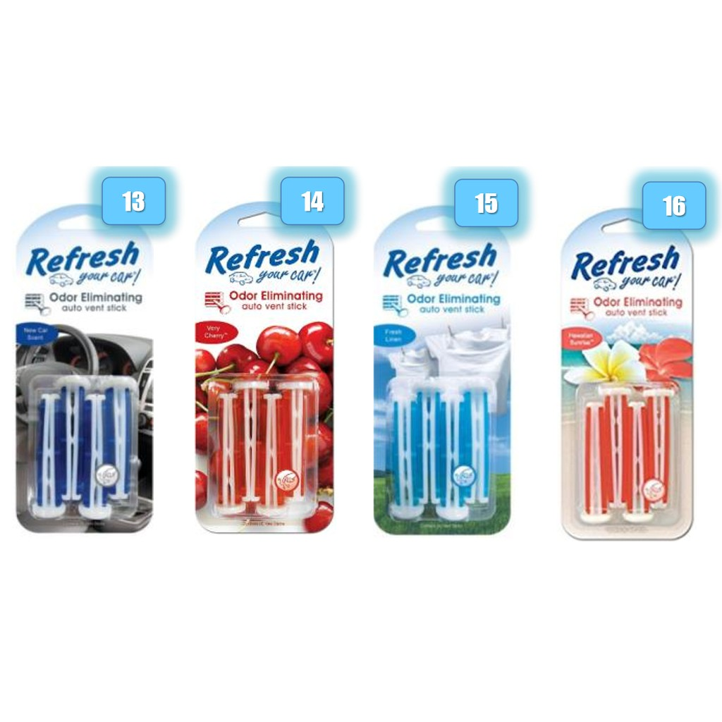 Refresh Your Car Scent Vent Stick