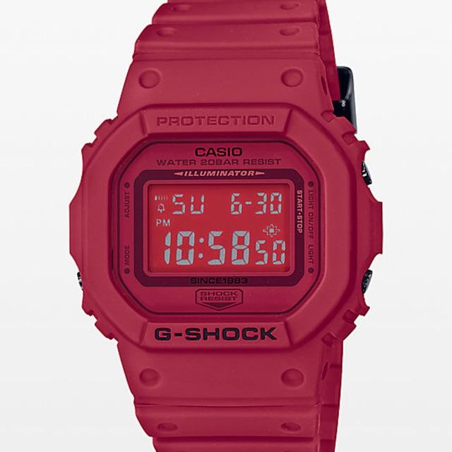 G shock Dw5600 Full Red Copy Original Autolight  e6f4952ae1
