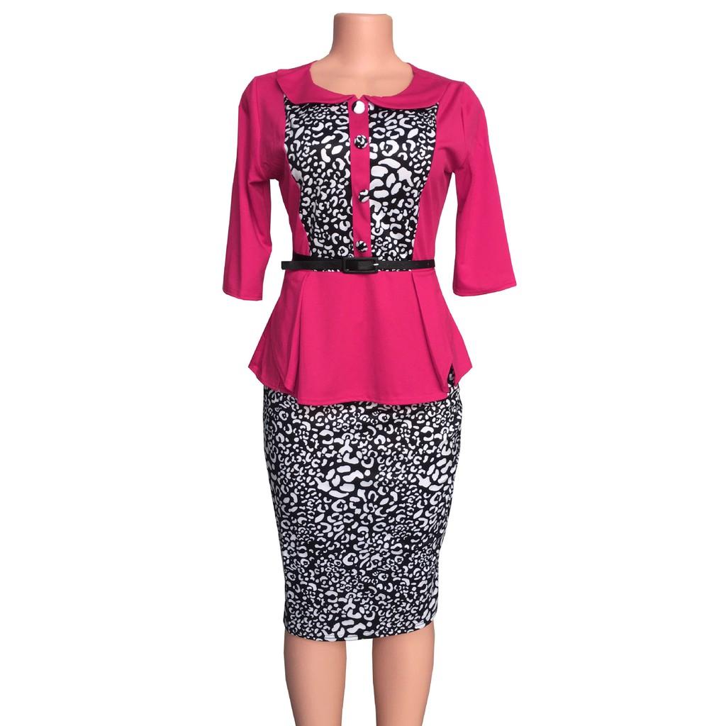 dress Leopard Dashiki ladies clothing ankara plus size african women dresses