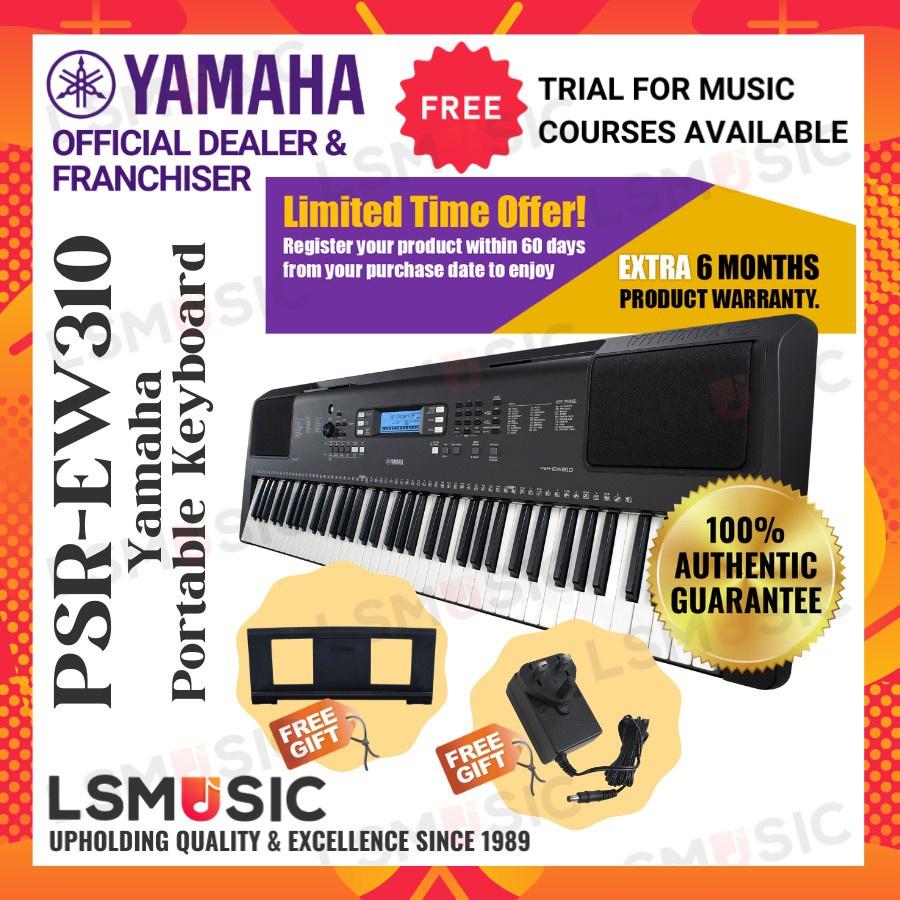 Yamaha Portable Keyboard 76 key keyboard PSR-EW310 / PSR EW310 / PSREW310