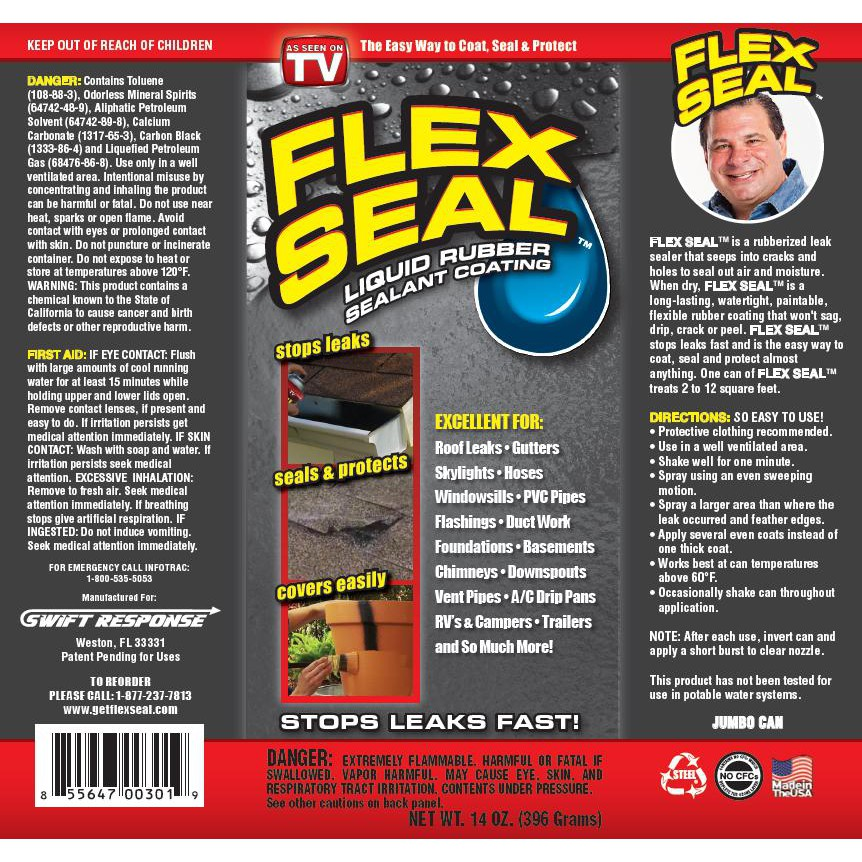 Flex Seal Liquid Rubber Sealant Coating Spray | Shopee Malaysia