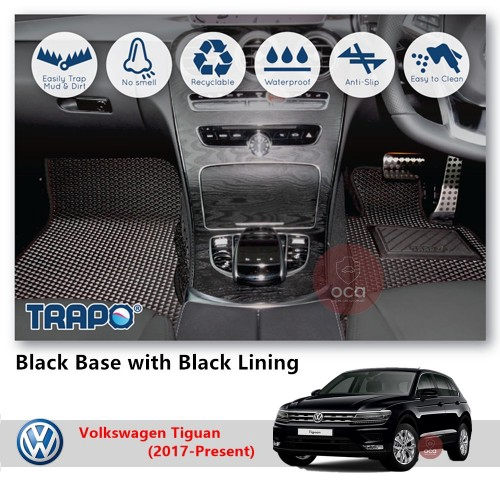 TRAPO Customize Car Floor Mat for Volkswagen Tiguan (2017-Present)