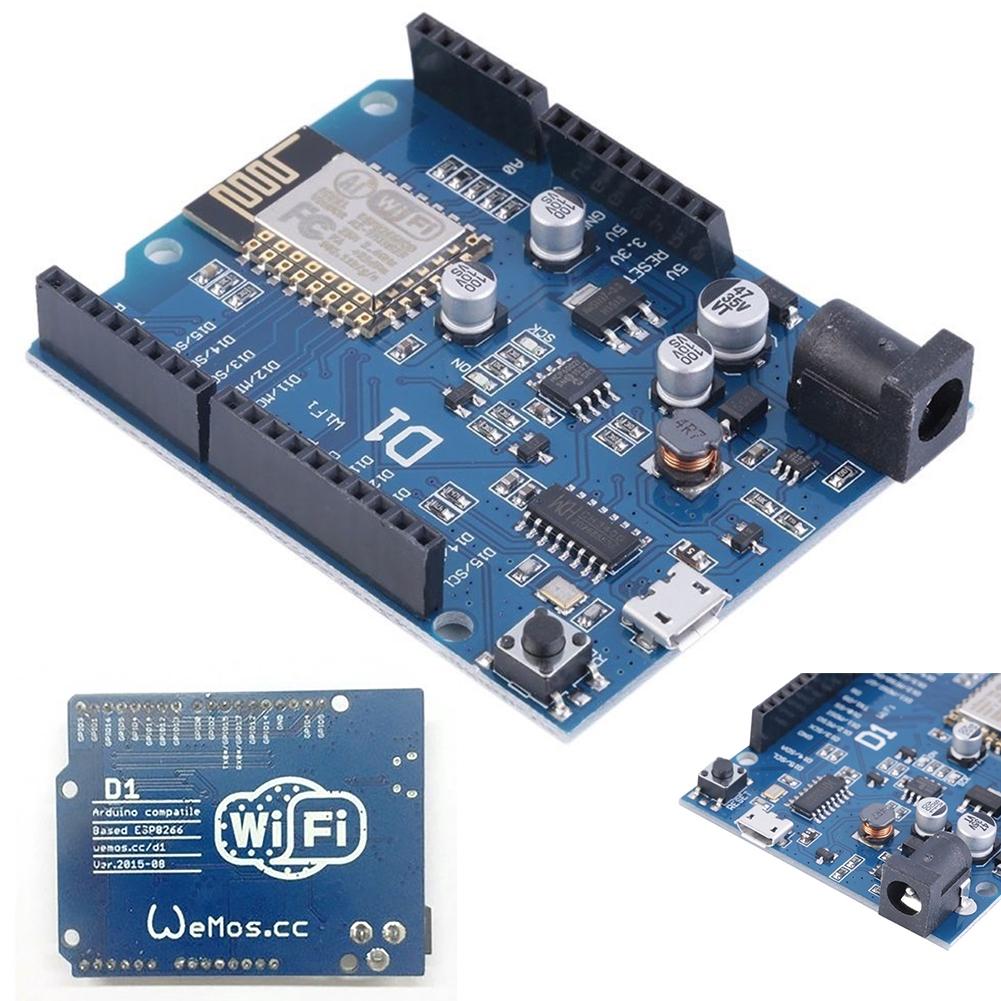 OTA WeMos D1 WiFi Arduino UNO Development Board ESP8266 ESP-12E Practical