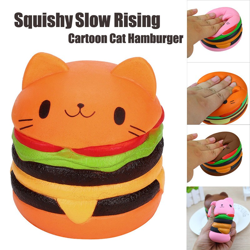 Kawaii Scented Stretchy Toy Soft Cute Simulation Bread Donut Squishy Slow Rising Squeeze Bag Accessories &ornament Bag Parts & Accessories
