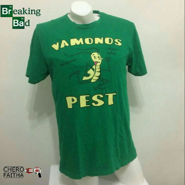 47b661515f65 Breaking bad vamonos pest shirt | Shopee Malaysia