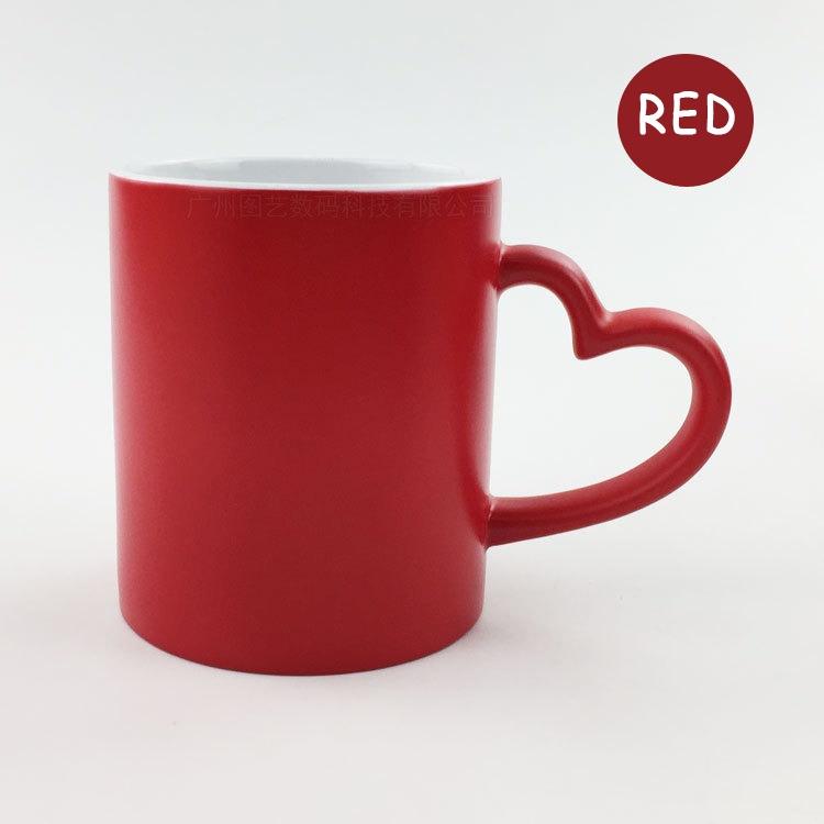 Magic mug / Love handle mug / Mug printing / Custom Colour Changing Magic Mug, Gift Mug, Birthday Mug