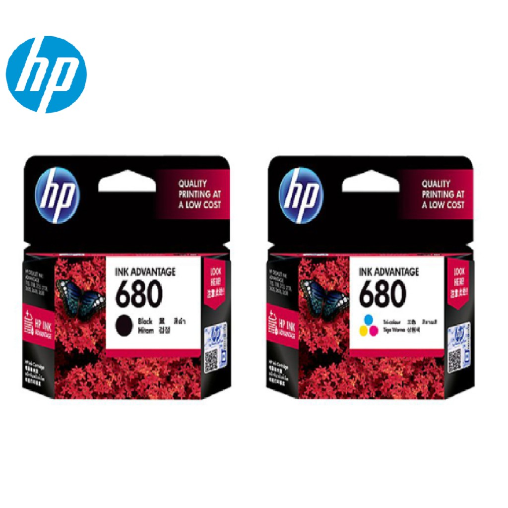 HP 680 Original Ink Black/ Tri-Color
