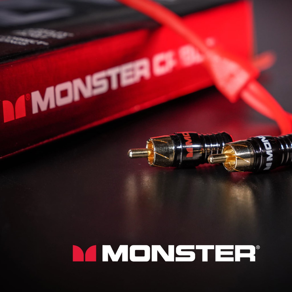 Monster RCA Cable M200I High Purity Oxygen Free Copper 100% Original