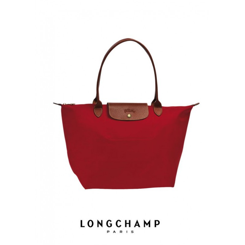 L025   AUTHENTIC LONGCHAMP LE PLIAGE TOTE 2605089 SMALL LONG HANDLE  (BILBERRY)  ef64522cabafc