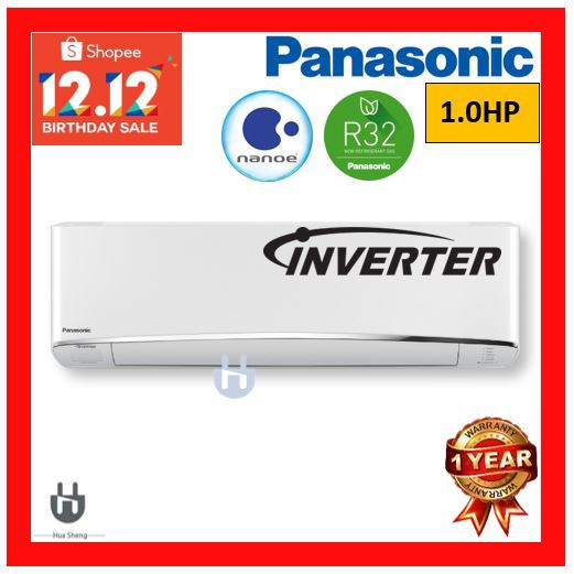 PANASONIC PREMIUM INVERTER 1.0HP R32 AIR COND CS-U10VKH-1