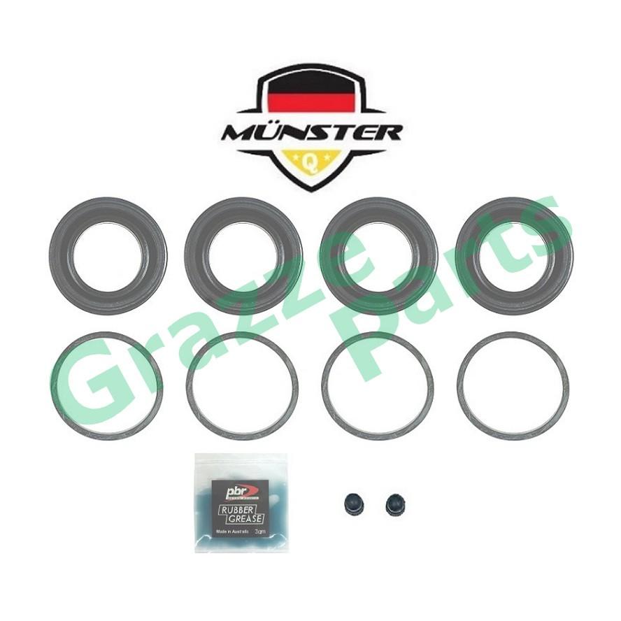 Münster Disc Brake Caliper Repair Kit Front for 0K75A-33-26ZX - Kia Pregio