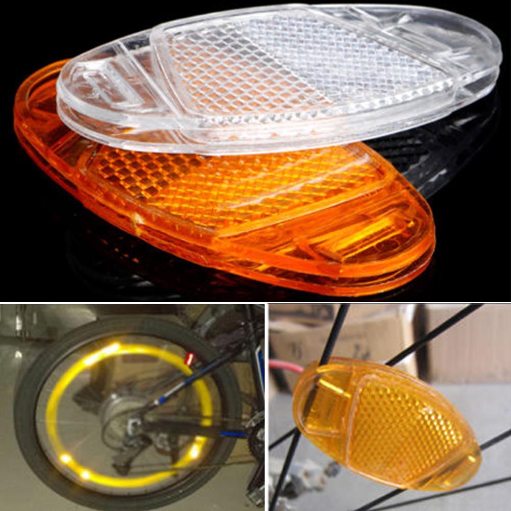 Bicycle Spoke Reflector Safety Assurance Wheel Reflective Warning Light