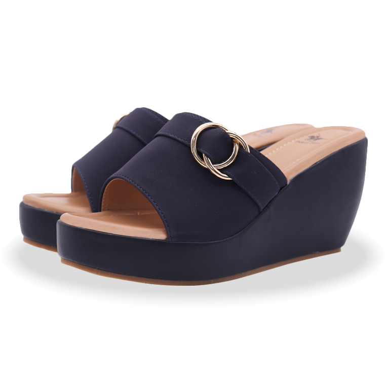 Polo Hill Ladies Slip On Wedges PSW-0A-217