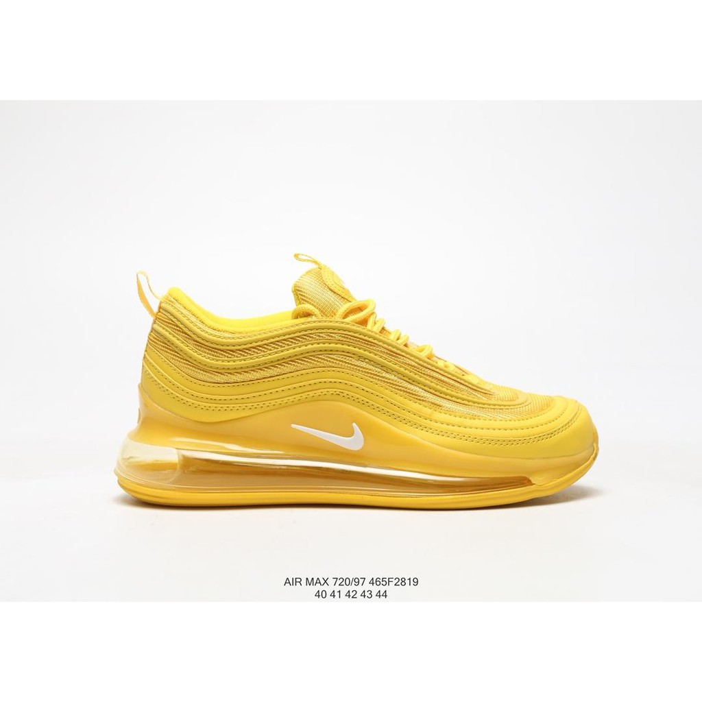fe99c2e6225 Nike Air Max 720/97 3M Sneakers Men Running Shoes Sport Shoes Unisex Yellow