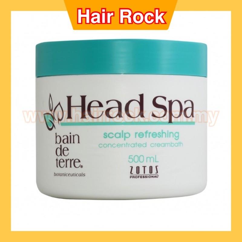 Bain De Terre Head Spa Scalp Refreshing  Creambath 500ml