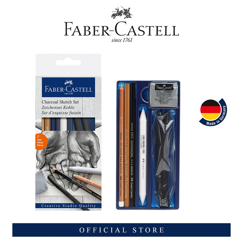 Faber-Castell Creative Studio Charcoal Sketch Set [Gift with Purchase]