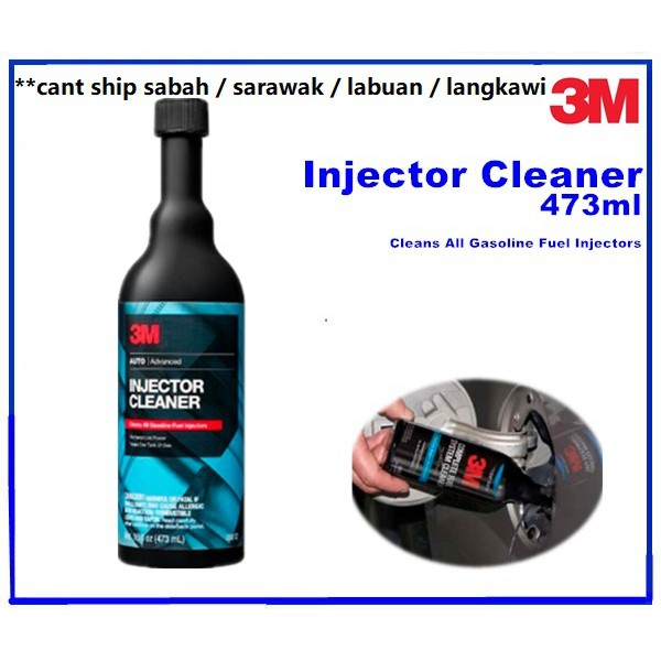 3M Advanced Fuel Injector Cleaner (USA Product) Fuel Additive  Gasoline/Petrol 08812