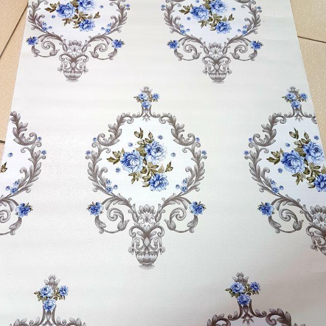 💐🌻 PVC Waterproof Wall Paper Vintage 45cm x 10 meter 🌻🏡