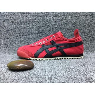 the latest 5b129 d6598 ASICS ONITSUKA tiger men and women running shoes sneakers Red and black