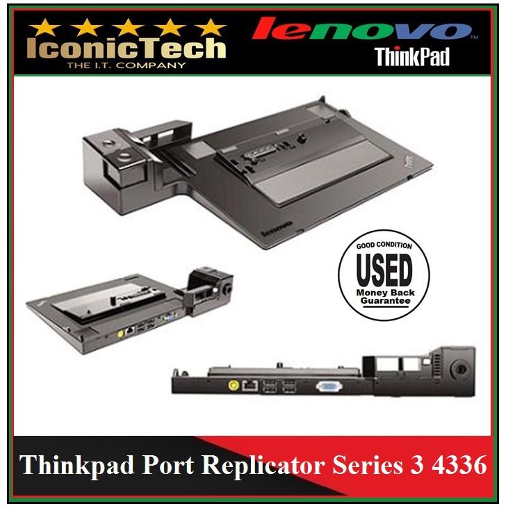 Lenovo Thinkpad Port Replicator 4336 For Lenovo Thinkpad X220 T520 (Used)