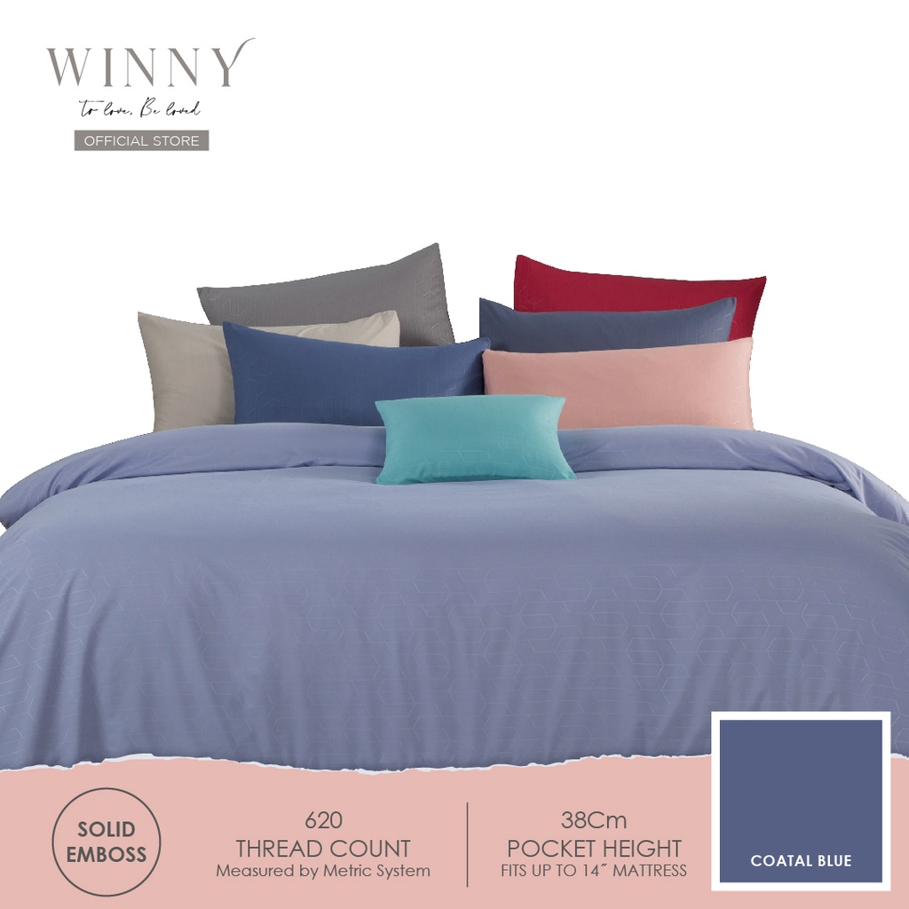 Winny Relish Comforter Set-620TC (SUPER SINGLE/QUEEN/KING)