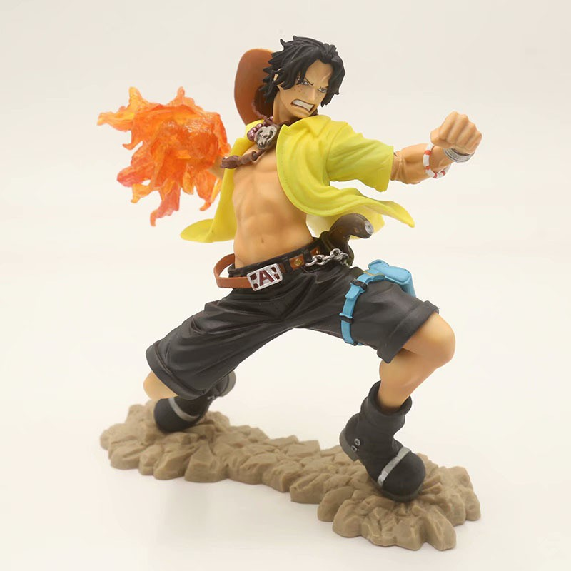 "ACE PORTGAS COLOSSEUM 15,5 CM//ANIME FIGURA SCULTURES BIG 6/"" IN BOX ONE PIECE D"