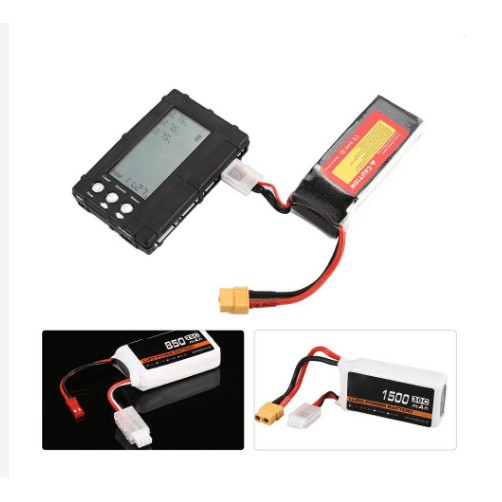2-6s RC Li-Po Battery Voltage Volt Test Indicator Electricity Monitor 7.4V-22.2V